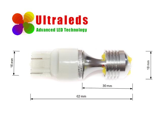 Żarówka LED 7440 30 Wat 15*5W CREE LED CANBUS